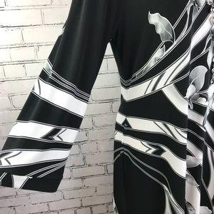 Gently Used WHBM Floral-Print Sheath Dress XL